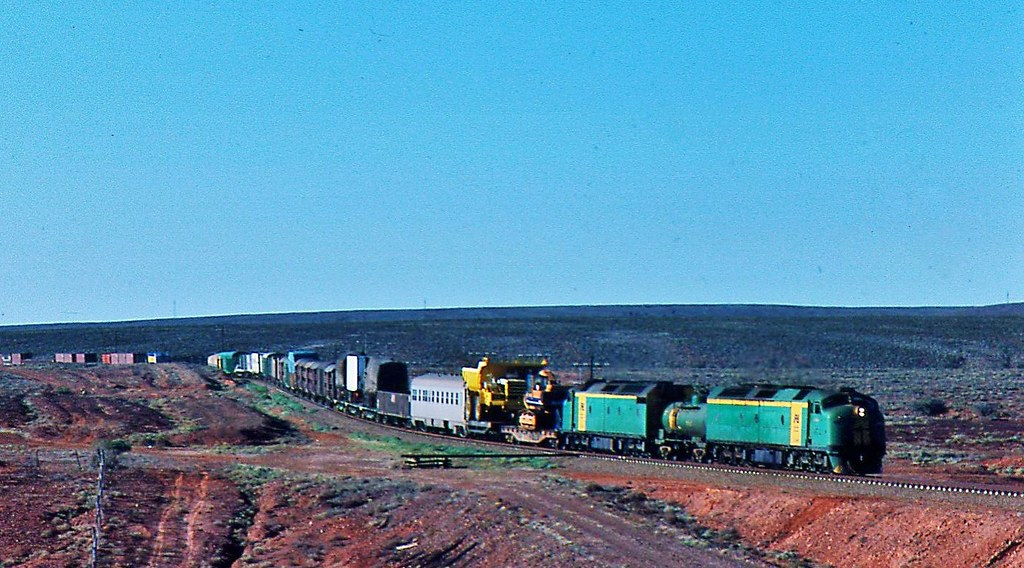 Two CL's on freight to the east  at Wirrappa South Australia by Rodney S300
