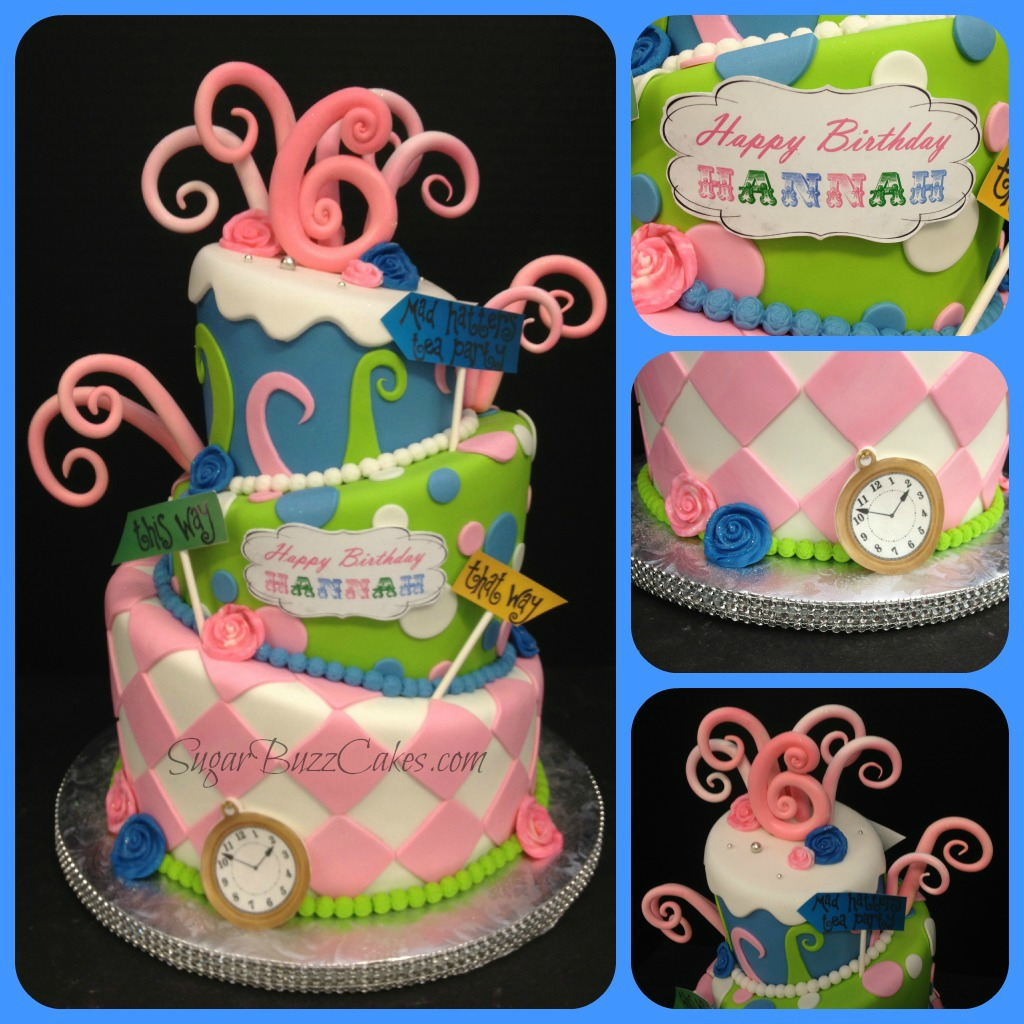 Fabulous Whimsical Topsy Turvy Birthday Cake Carol Flickr Funny Birthday Cards Online Alyptdamsfinfo