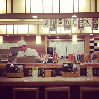 I miss this place! #kaitensushi #solamachi #toriton #japan | by rc!