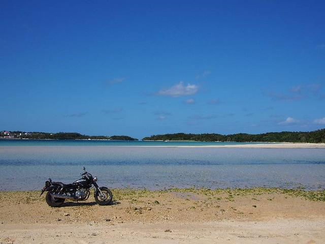 KABIRA bay (川平湾)
