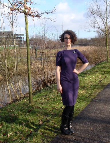 Gertie's Wiggle Dress | by Roses on Toast