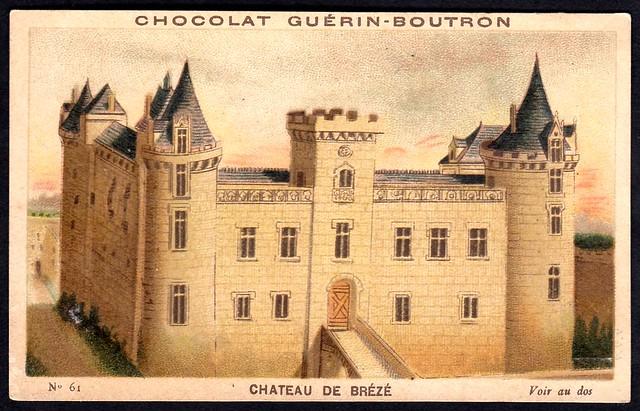 French Tradecard - Chatea de Brézé
