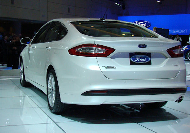 2012 Canadian International Auto Show 2013 Ford Fusion