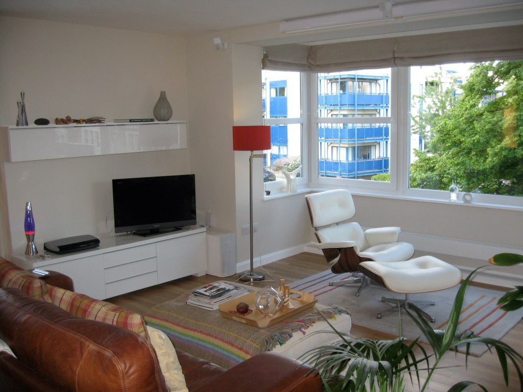 Living room, Apartment 12, Aylesbury, Hove