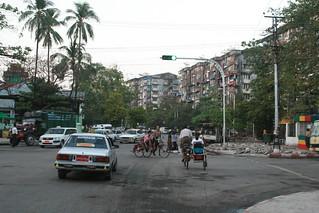 Myanmar, Yangon -  Feb 2013 - Biking around Yangon for the first time. 照片 605