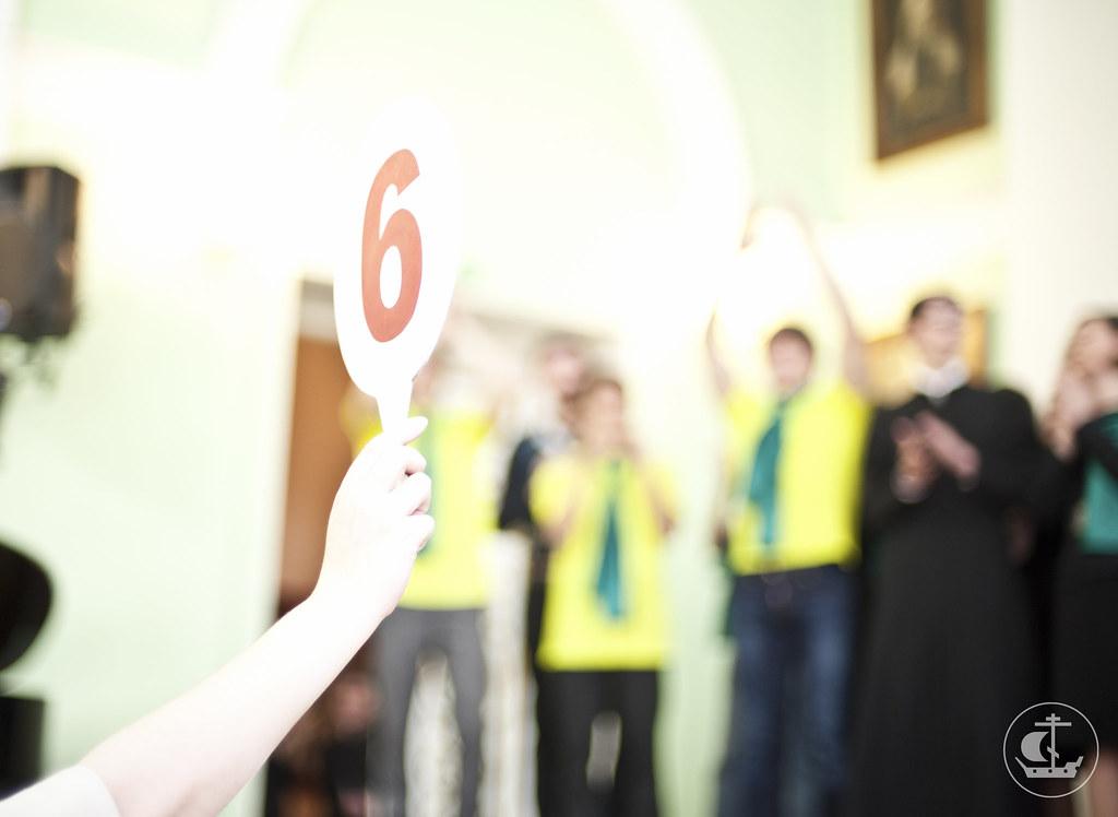 14 марта 2013, КВН в Санкт-Петербургской православной духовной академии