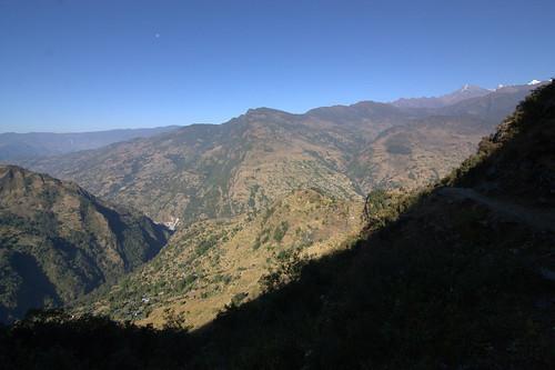 nepal mountains trekking asia asien outdoor hiking berge himalaya wandern himalayas chachalung