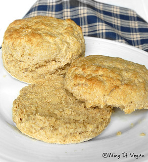 Whole Wheat Buttermilk Biscuits | by River (Wing-It Vegan)