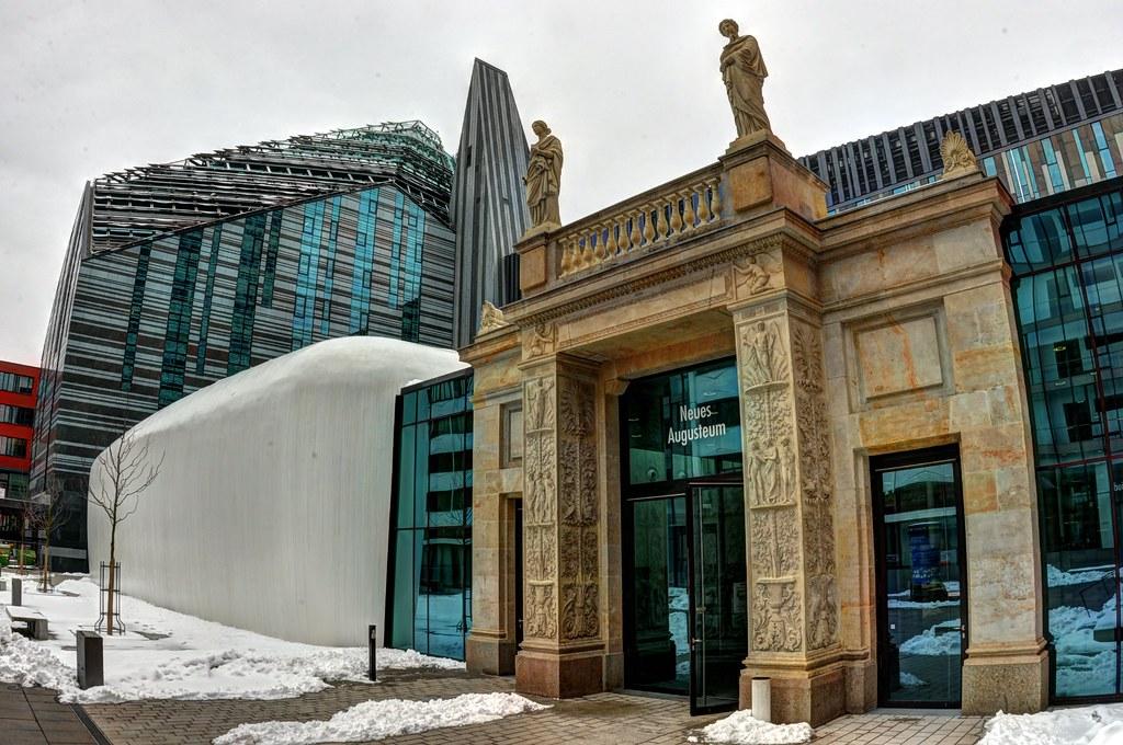 Leipzig The New Main Building Of The Universitat Leipzig Bra3nnvin Flickr