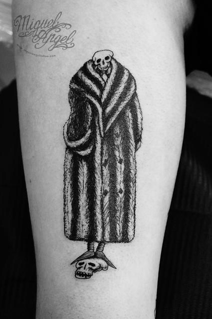 ©Edward Gorey design tattoo