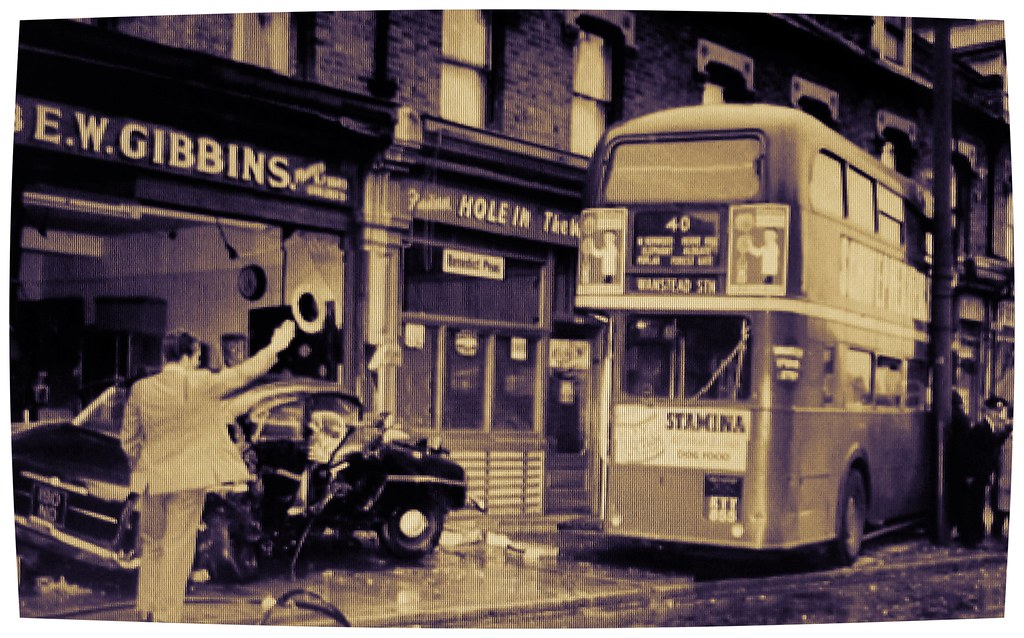 London transport RT3156 June 1960 accident  | London transpo… | Flickr