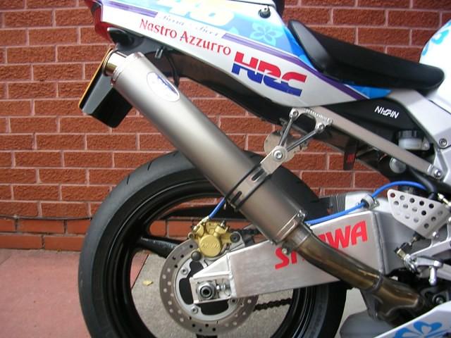 Max Torque Cans Motorbike Exhausts Honda Blade Y2K 2000 - 2003