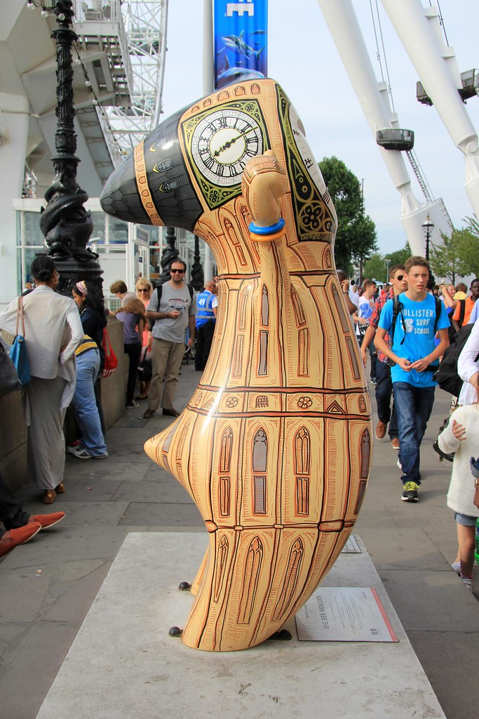 London Discovery Trail 2012 - 3. Big Ben Wenlock Ding dong ...