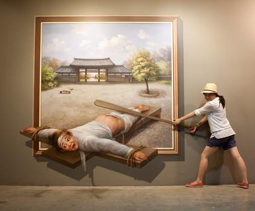 Trick Eye Museum, Hongdae, Seoul, South Korea | by Jirka Matousek