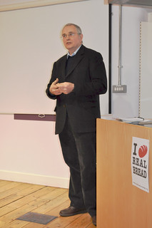 Andrew Whitley at the Real Bread Campaign gathering 24JAN13 | by Real Bread Campaign