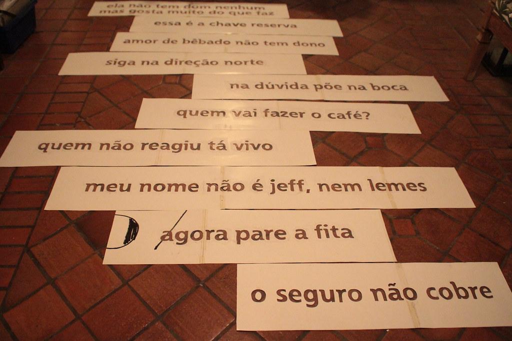 Frases Feitas Montagem Novembro 2012 Ocupeacidade Flickr
