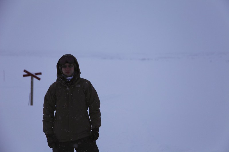 Me in the Arctic Circle