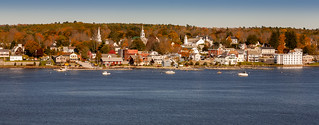 Bucksport, Maine in Fall | by djs94124