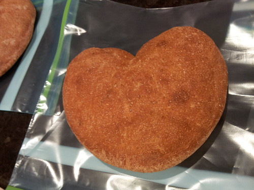 Heart-shaped Valentine's Bread | by jugglerpm