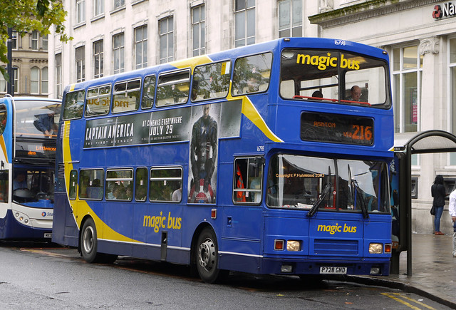 Stagecoach Manchester 16798 (P728GND)
