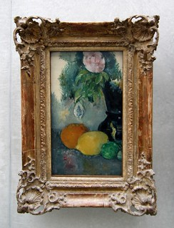 Paul Cézanne (1839-1906) - Fleurs et fruits (1880) | by Heinz Theuerkauf