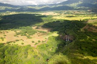 Wailua Falls, Kauai, by helicopter | by Morris Hersko