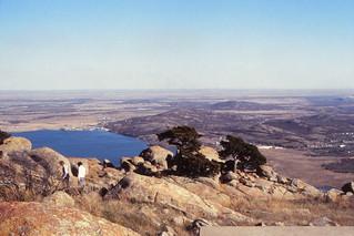 Oklahoma   -   Wichita Wildlife Refuge   -   From Mt. Scott   -   November 1981