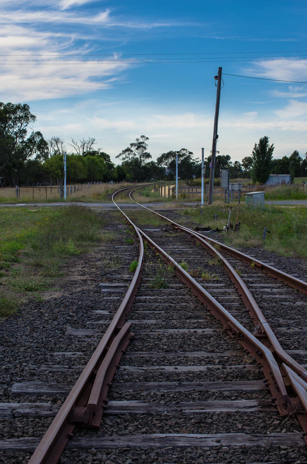 Nyora Railway Crossing by Simon Yeo