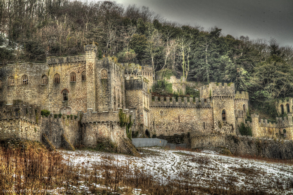 Snowy Castle HDR