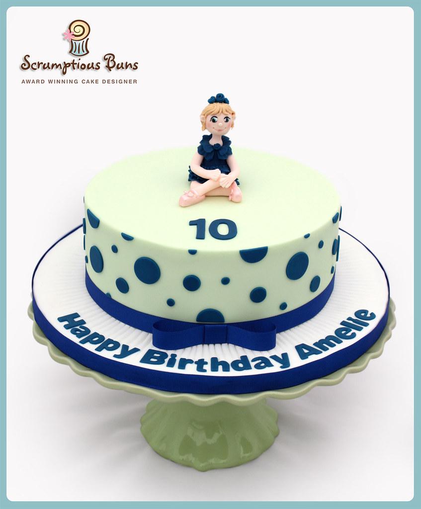 Surprising Amelies 10Th Birthday Cake A Chocolate Fudge Cake That Tr Flickr Funny Birthday Cards Online Inifodamsfinfo