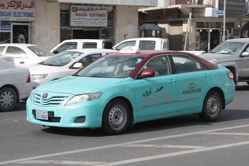Toyota Camry as a taxi in Doha, operated for Mowasalat by 'Karwa' | by Marcus Wong from Geelong