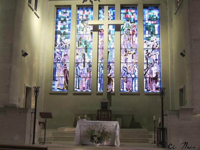 L'autel à St Martin