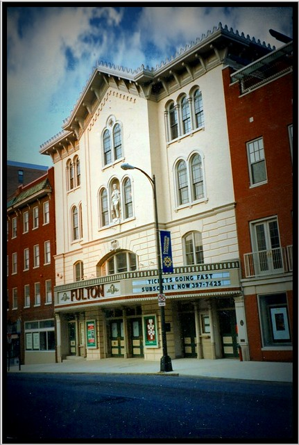 Lancaster Pa ~ Fulton Theatre ~ My Vintage film from the early 90's ~ Historical Building