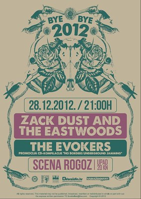 Zack Dust & The Eastwoods + The Evokers