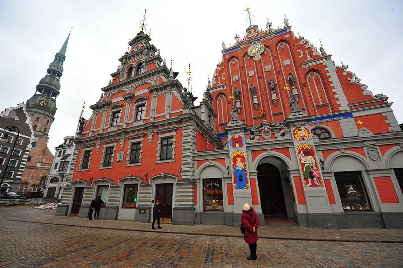 House of Blackheads, Riga
