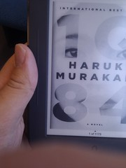 "Haruki Murakami's ""1Q84"" on Nook Simple Touch e-reader"