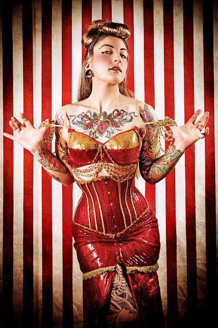 Burlesque Circus: The Queen of Hearts