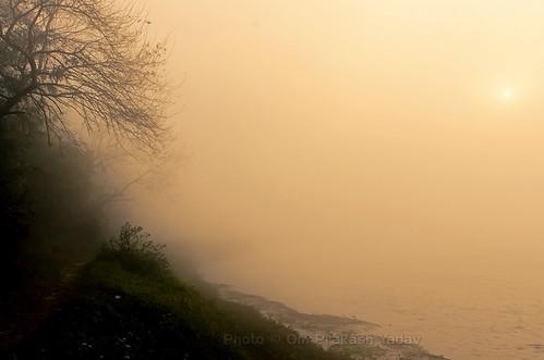 nepal winter mist misty sunrise river landscapes nikon opsphotos centralregion d7000 nikon2470mm28 patihani