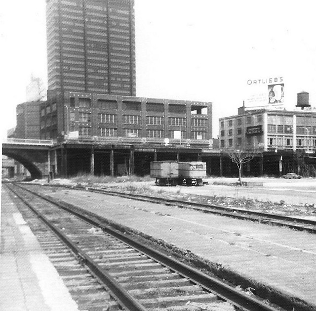 The remains of the old B&O station in Philadelphia