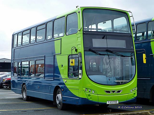 Arriva Yorkshire 1704 - YJ13FKD