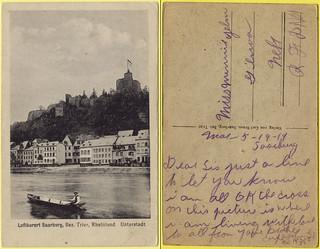 Saarburg, Rhineland-Palatinate, Germany 1919.05.19