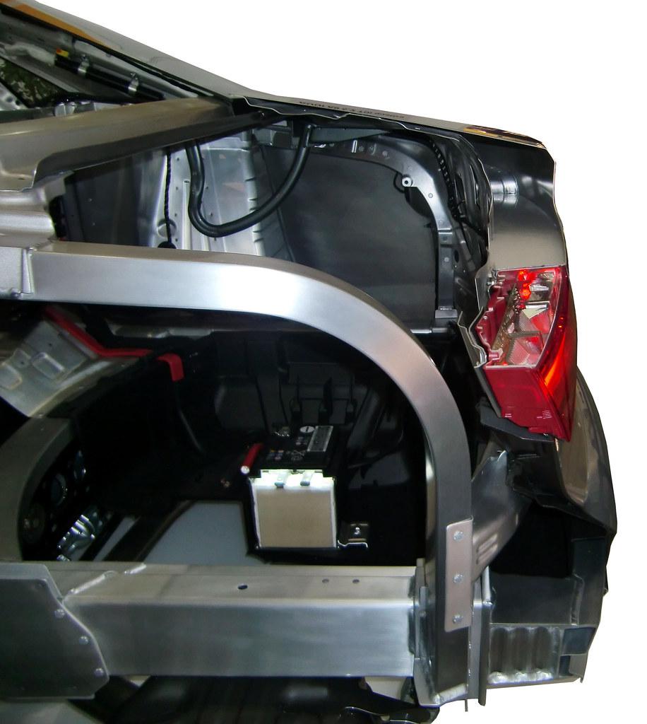 Der Audi A8 Von 2010 Setzt Die