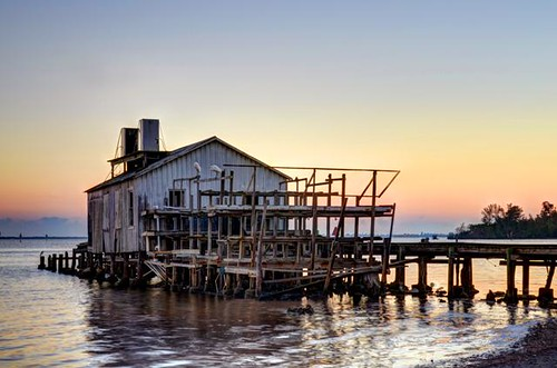 sunset shadow house fish water sunrise photography photo sebastian florida picture smith photograph archie fl hdr indianriver mikewoodfin