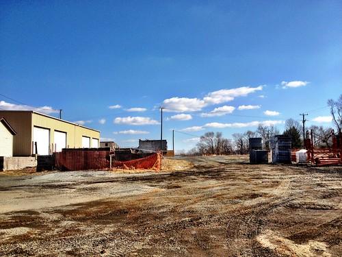 The #Crozet lumberyard landscape is changing. Rapidly. | by JimDuncanCville