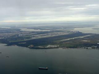 Singapore Changi Airport and Changi Air Base   by Luke Lai