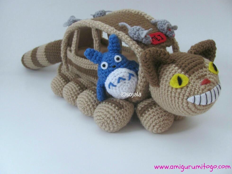 DIY Free Crochet Pattern - Amigurumi My Neighbor Torani no Totoro ... | 735x980