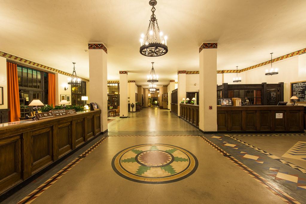The Overlook Hotel Lobby The Ahwahnee Hotel Yosemite Nat