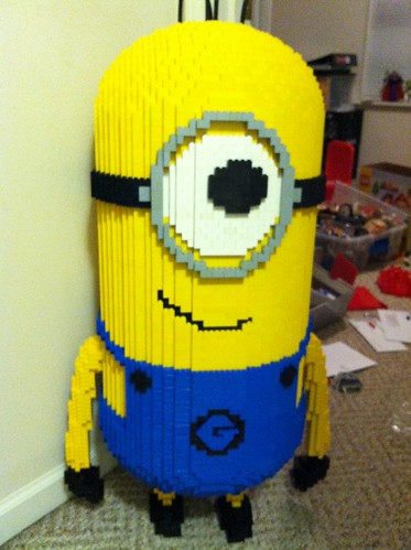 LEGO Minion Despicable Me Sculpture
