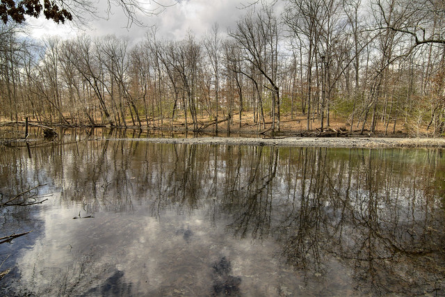 Tailings pond, Ravenscoft coal mine, White Co, TN