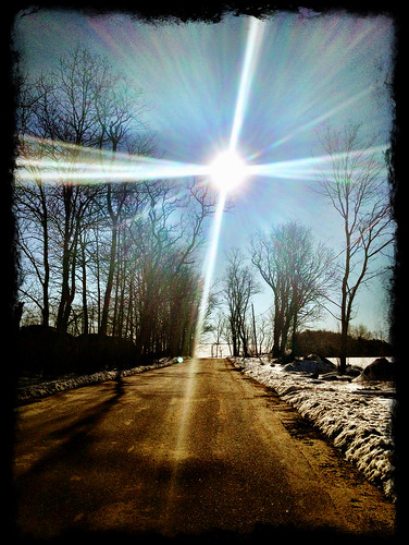 sun snow sunrise lens glare nh flare epping